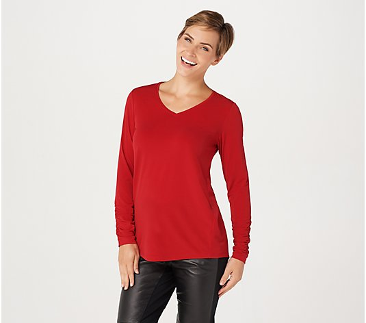 Susan Graver Modern Essentials Liquid Knit Tunic