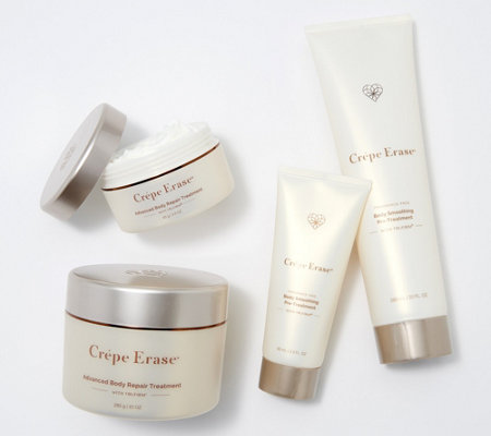Crepe Erase 4-Piece Advanced Body Treatment Collection