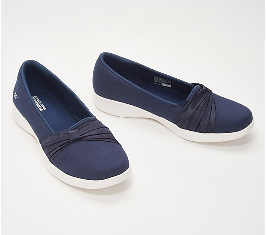 """As Is"" Skechers GO Step Lite Slip-On Shoes Adorbs"