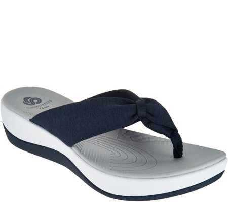 CLOUDSTEPPERS by Clarks Thong Sandals - Arla Glison