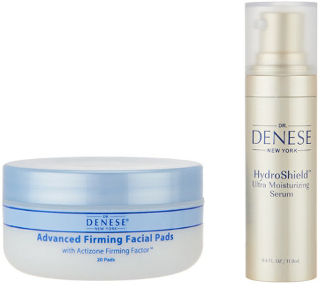 Dr. Denese Travel Size Hydroshield Serum & 20 ct Firming Pads