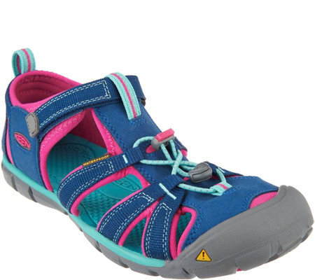 KEEN Girls Sport Sandals Youth -Seacamp II CNX