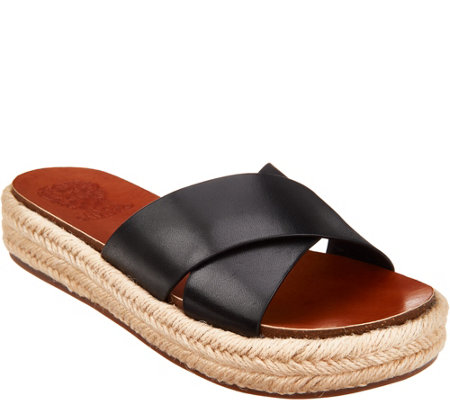 Vince Camuto Cross Band Espadrilles - Carran
