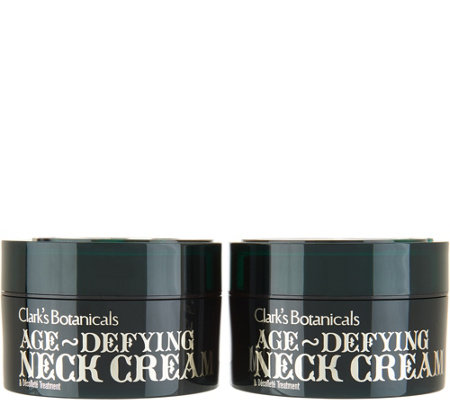 Clark's Botanicals Age Defying Neck Cream Duo Auto-Delivery