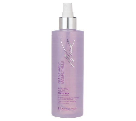Nick Chavez Advanced Volume Hairspray 8 Fl Oz