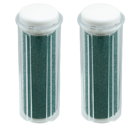 Emjoi Micro-Pedi Xtreme Coarse Refill Rollers -Set of Two