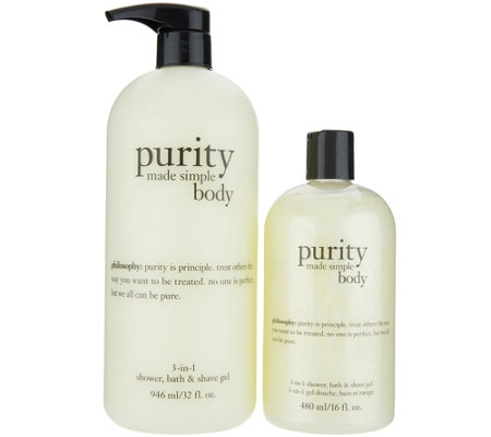 philosophy super-size purity body cleansing gel Auto-Delivery