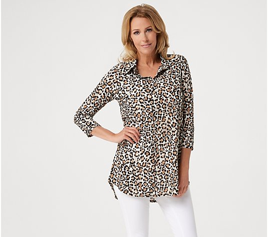 Attitudes by Renee Printed Big Shirt