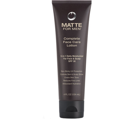 Matte For Men Complete Face Care Lotion SPF 30,4 oz