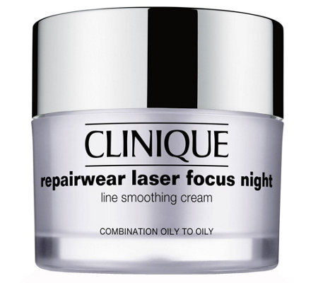 Clinique Repairwear Laser Focus Night Cream, 1.7 oz