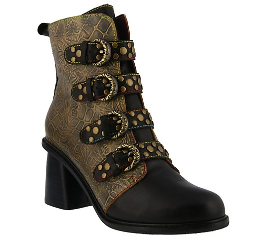 L'Artiste by Spring Step Leather Boots - Wonderland