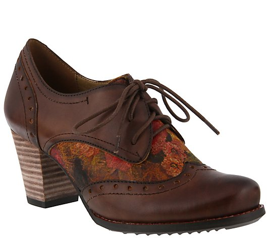 L'Artiste by Spring Step Leather Oxfords - Marivel