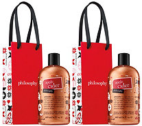 philosophy holiday shower gel duo - A416920