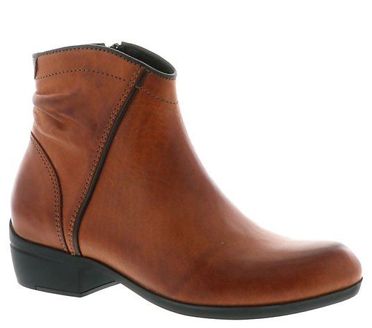 Wolky Leather Booties - Winchester