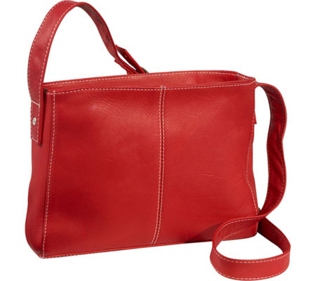 Le Donne Leather Top Zip Crossbody Bag