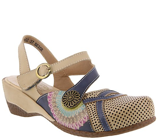 L'Artiste by Spring Step Leather Sandals - Parkway