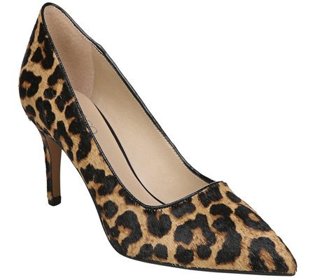 Franco Sarto Animal-Print Kitten-Heel Pumps - Tudor2