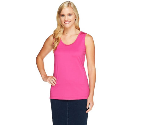 Denim & Co. Essentials Layering Camisole