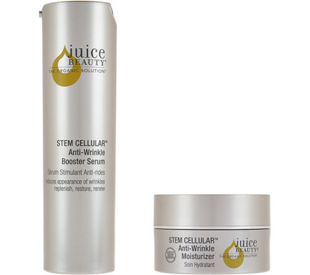 Juice Beauty Stem Cellular Anti-Wrinkle Serum & Bonus Moisturizer Set