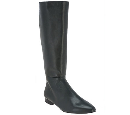"""As Is"" G.I.L.I. Leather Tall Shaft Boots - Chandra"