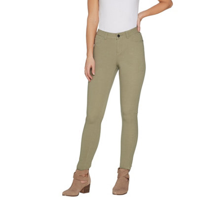 G.I.L.I. Petite Dual Stretch Colored Denim Jeggings