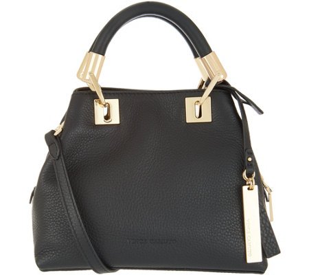 Vince Camuto Small Leather Satchel - Elva