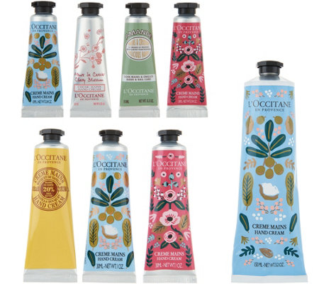 L'Occitane Shea Hand Cream Wardrobe by Rifle Paper Company