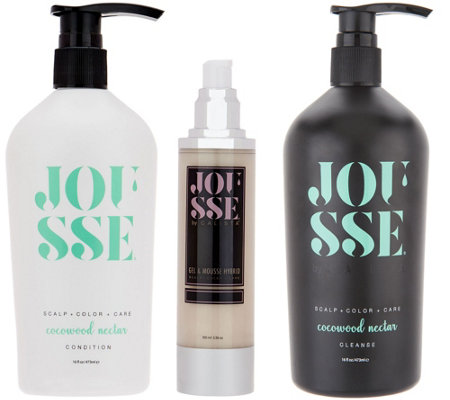 Calista Jousse Cleanse, Condition, and Style 3-piece Hair Collection