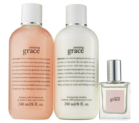 philosophy grace & roses head to toe fragrance layering kit