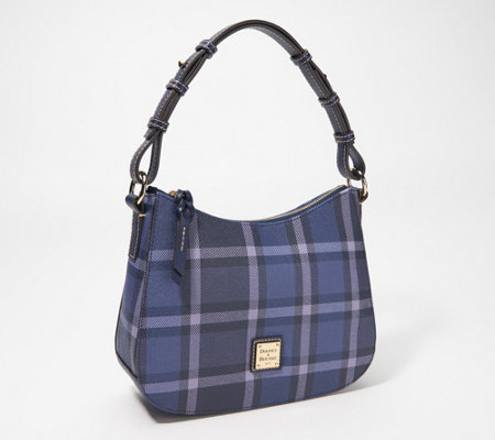 Dooney & Bourke Graham Coated Cotton Small Kiley Hobo