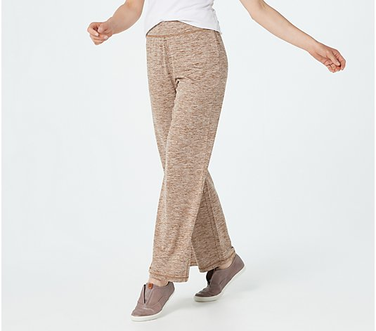 Isaac Mizrahi Live! Regular SOHO Space Dye Knit Pants
