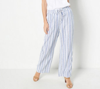 Denim /& Co Slightly Boot Cut 5-Pocket Jeans Elastic Waist Wine 18WP NEW A258929
