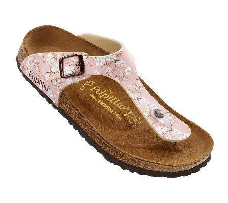 cf91dc59971a Papillio by Birkenstock Gizeh Floral Print Thong Sandals - Page 1 ...