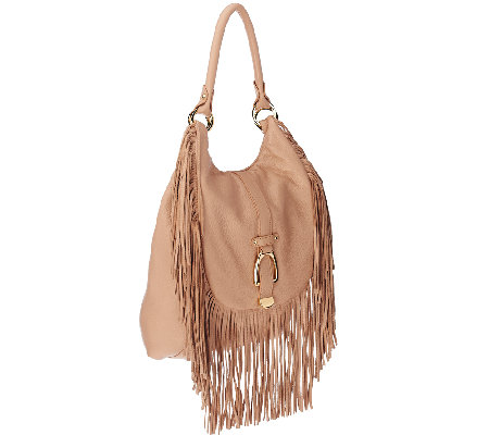 """As Is"" G.I.L.I. Convertible Backpack with Fringe"