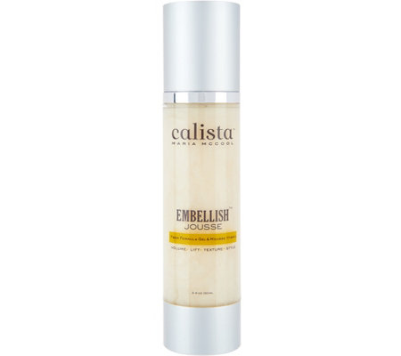 qvc hair styling products calista jousse gel mousse volumizing hair styler page 6929