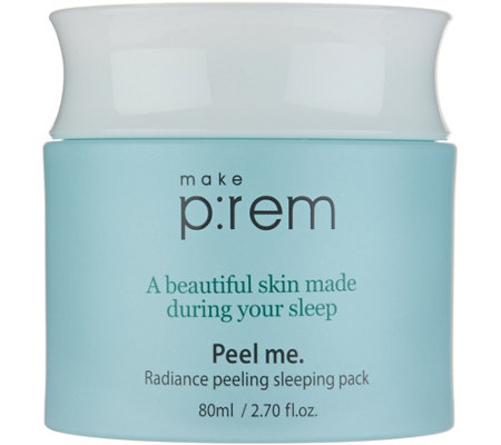 MAKE P:REM Radiance Peeling Sleeping Pack by Glow Recipe