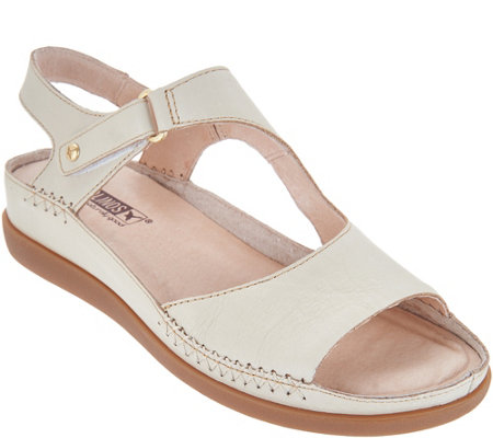 Pikolinos Leather Ankle Strap Sandals - Cadaques