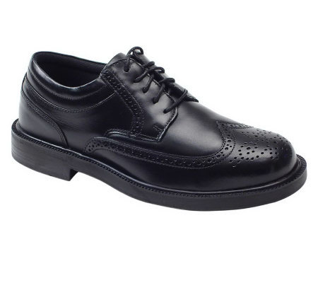 Deer Stags Men's Leather Wingtip Oxfords -Tribune