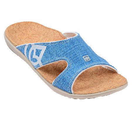 7a42928fa23 Spenco Kholo Orthotic Slide Sandals - Page 1 — QVC.com