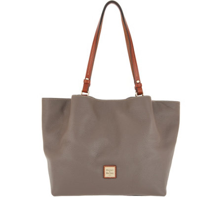 Dooney & Bourke Pebble Leather Flynn Shoulder Bag