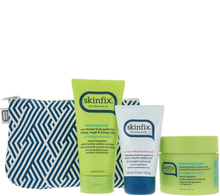 Skinfix Exfoliate and Hydrate 3-Piece Kit with Bag
