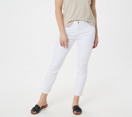 Nydj Skinny Ankle 5 Pocket Jeans Optic White