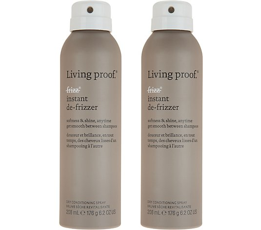 Living Proof No Frizz Instant De-Frizzer Full Size Duo