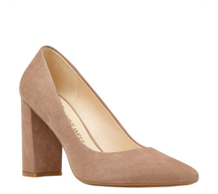 Nine West Suede Pumps - Astoria