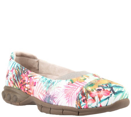Therafit Fabric Ballet Flats - Chanell
