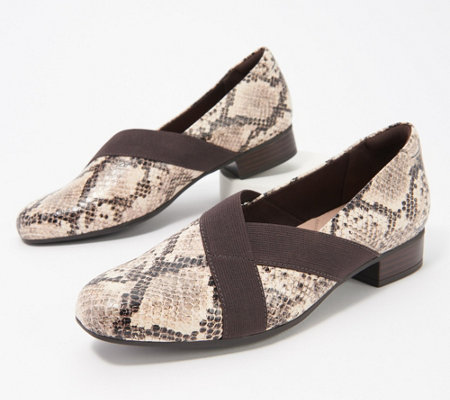 78cd8b9a Clarks Collection Slip-On Loafers - Juliet Dahlia — QVC.com