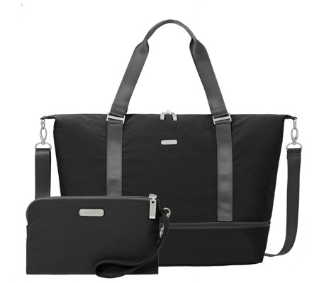 Baggallini Expandable Carry On Duffle