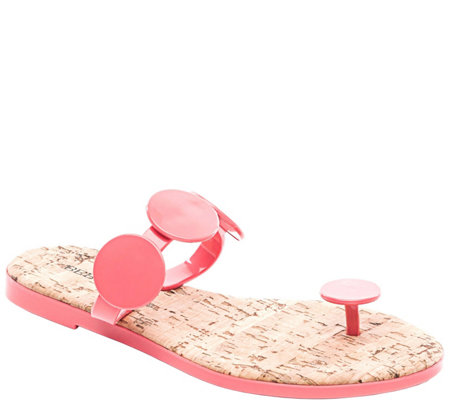 Bernardo Rubber Sandals - New Moon Jelly
