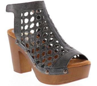 05212cdc32d Sbicca Leather Woven Platform Sandals - Kingsley - A414222