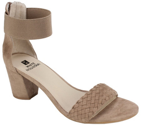 White Mountain Open Toe Heel Sandals Eryn